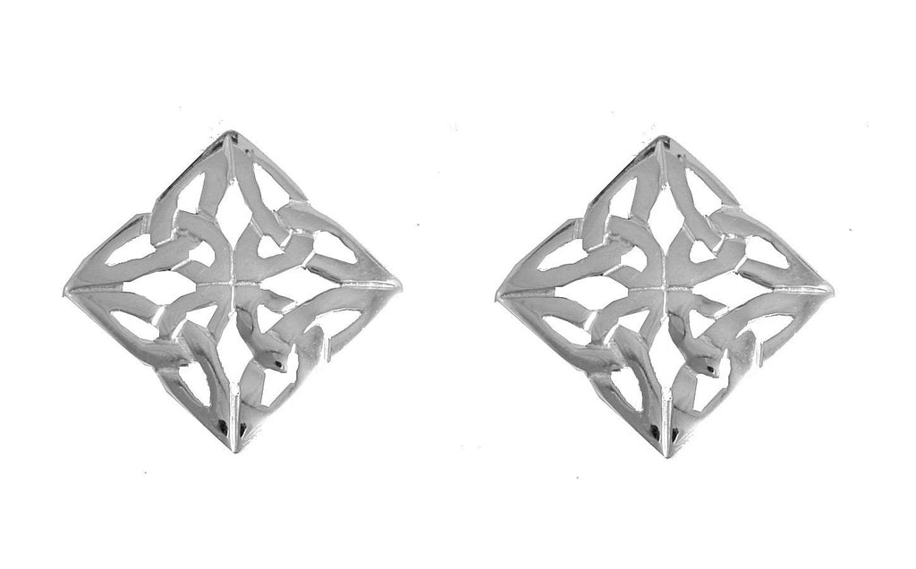 4-Sided Trinity Earrings
