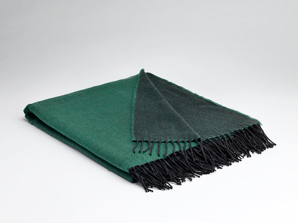 Emerald Reversible Supersoft Throw