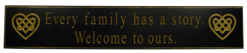 """Every Family has a story..."" Door Board"