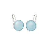 Royal Doulton Blue Round Drop Earrings