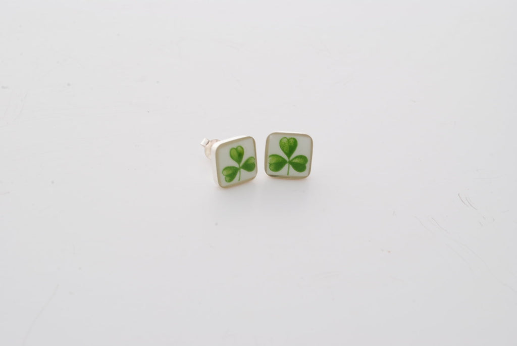 Royal Tara Square Stud Earrings