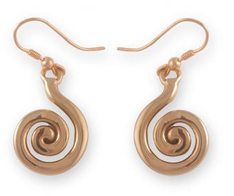 Celtic Spiral Earrings (2 Options)