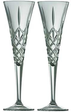 Romance Crystal Champagne Flutes