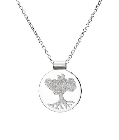 "Tree of Life ""Growing Home"" Solid Pendant"