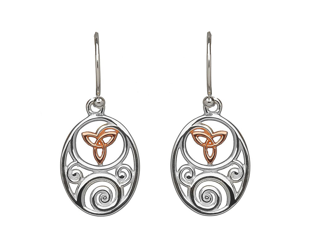 House of Lor Trinity Knot Earrings