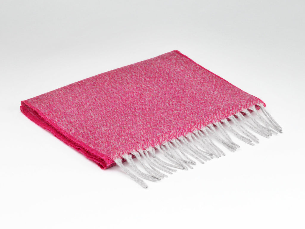 Cashmere Hot Pink Scarf