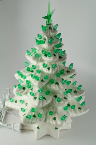 Shamrock Christmas Tree