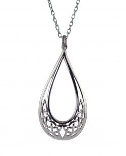 Pear Shaped Celtic Knot Pendant