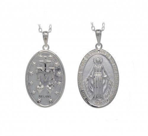 Miraculous Medal Pendant (2 Sizes)