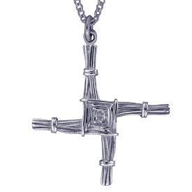 St. Brigid's Cross - Sterling Silver