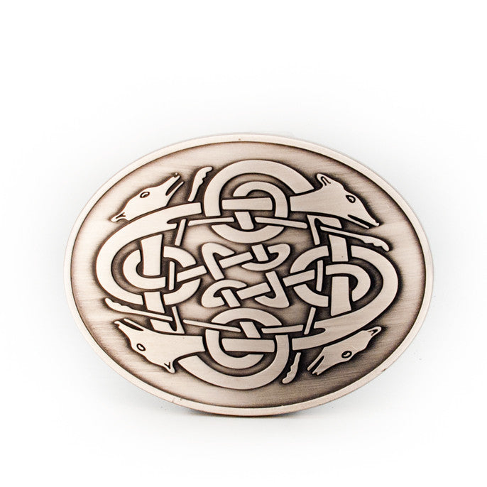 Cuchulainn Celtic Buckle