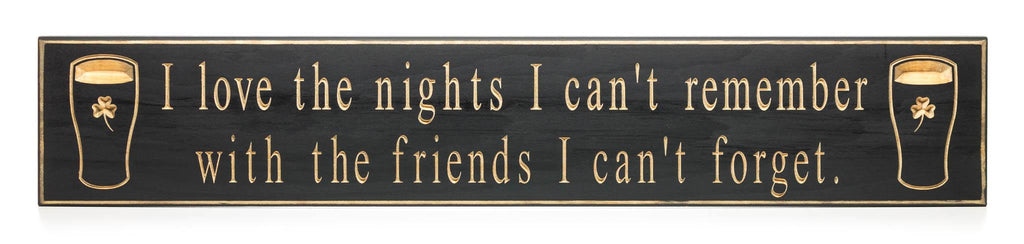 """I love the nights..."" Door Board"