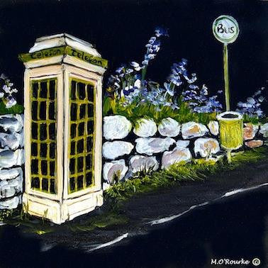 Island Life & Traditions - Phone Box
