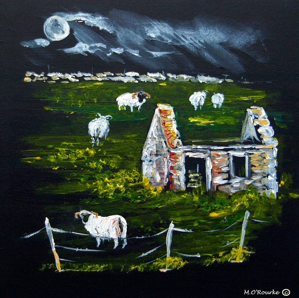 Island Life & Traditions - Sheep in the field