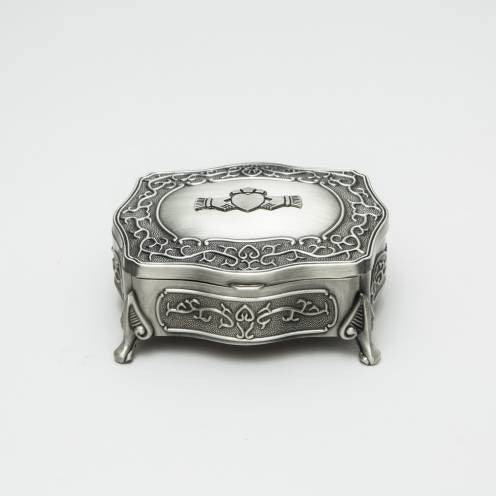Claddagh Jewelry Box (2 Sizes)