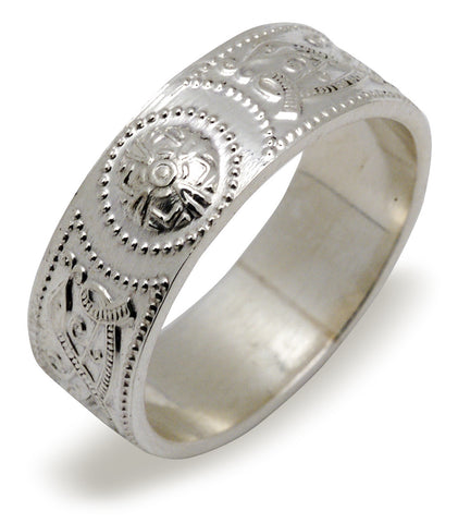 Celtic Warrior Ring - Sterling Silver