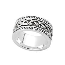 Wide Celtic Knot Band (2 Options)