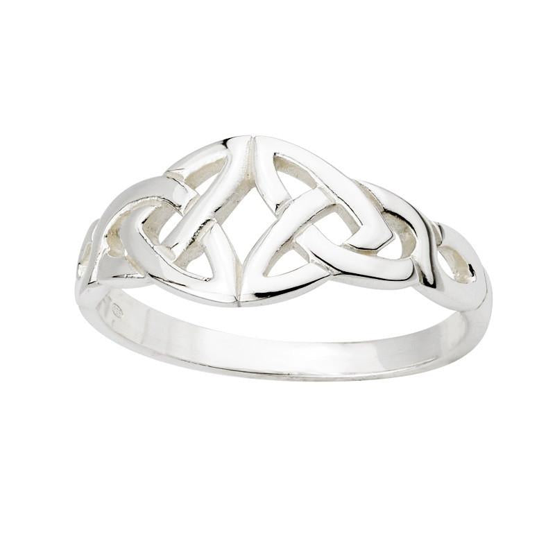 Double Trinity Knot Ring
