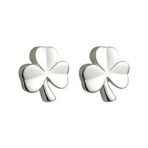 Child's Shamrock Earrings