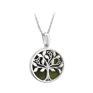 Connemara Marble Tree of Life Pendant