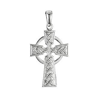 Celtic Cross - Sterling Silver