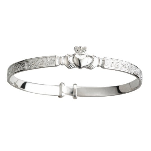 Claddagh Baby Bangle