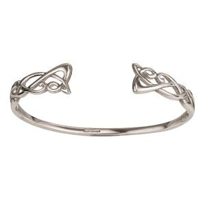 Trinity Knot Torc Bangle