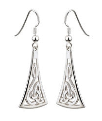 Celtic Knot Drop Earring