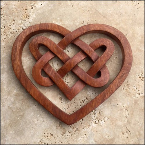 Celtic Triple Heart Knot