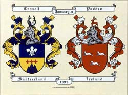 Anniversary Family Coat of Arms