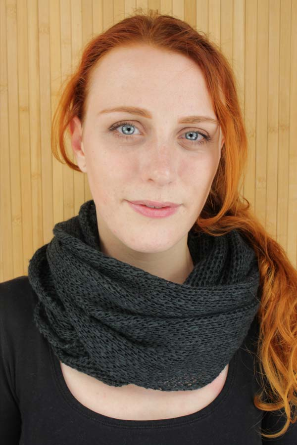 Orkney Snood  - Black