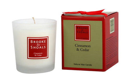 Cinnamon & Cedar Travel Candle