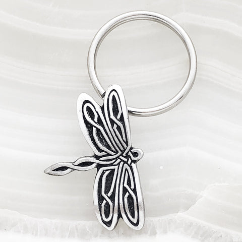 Dragon Fly Key Ring