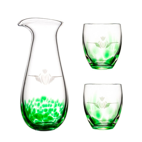 Claddagh Carafe Set