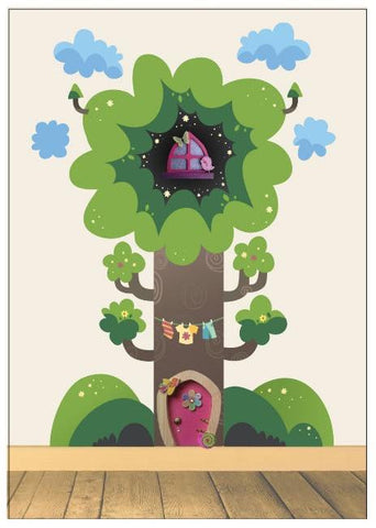 Fairy Tree Decal