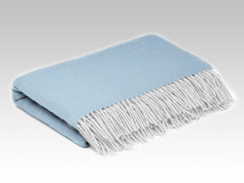 Ice Blue Mini Blanket