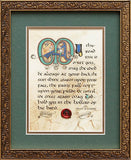 Irish Blessing Framed Print