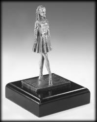 Irish Dancer Pewter Statue