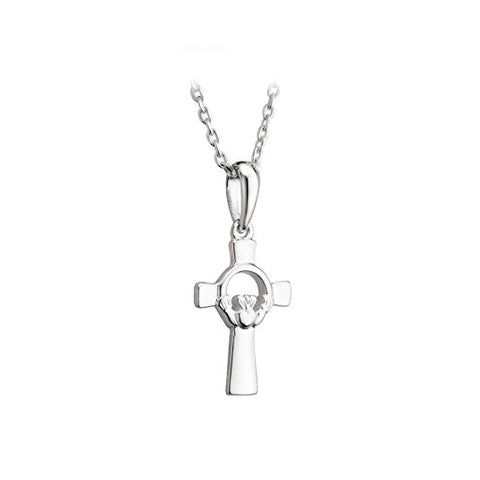 Small Claddagh Celtic Cross