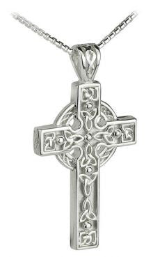 XL Celtic Cross - Sterling Silver
