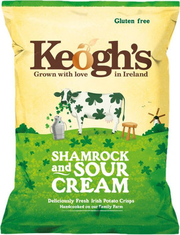 Keoghs Shamrock & Sour Creams Crisps