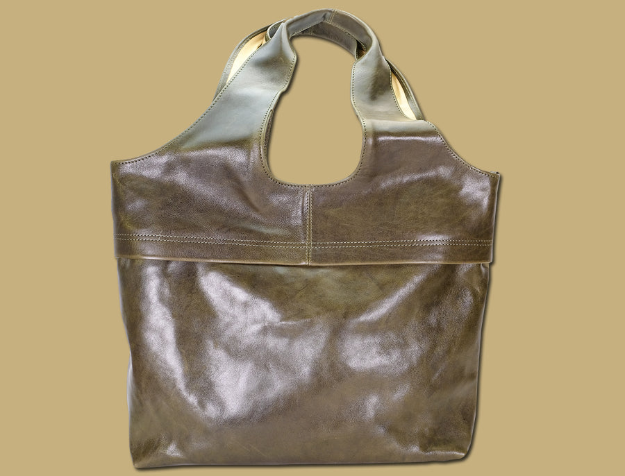Large Tote Bag - Olive
