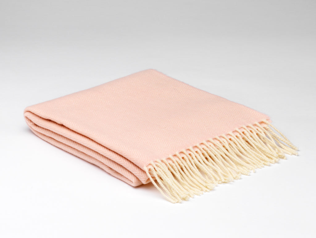 Soft Pink Cashmere Wrap