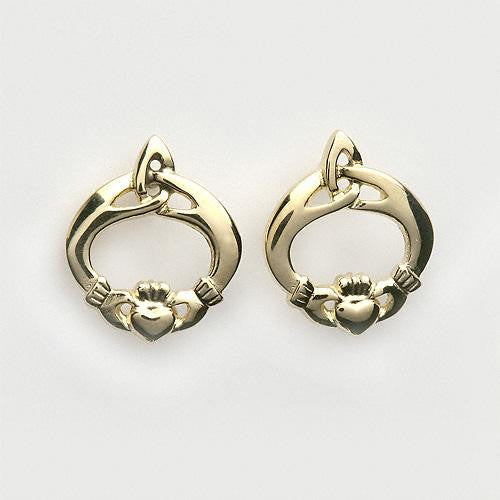 Claddagh & Trinity Knot Earrings (2 Colors)