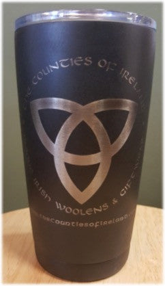 The Counties of Ireland 20oz Travel Mug