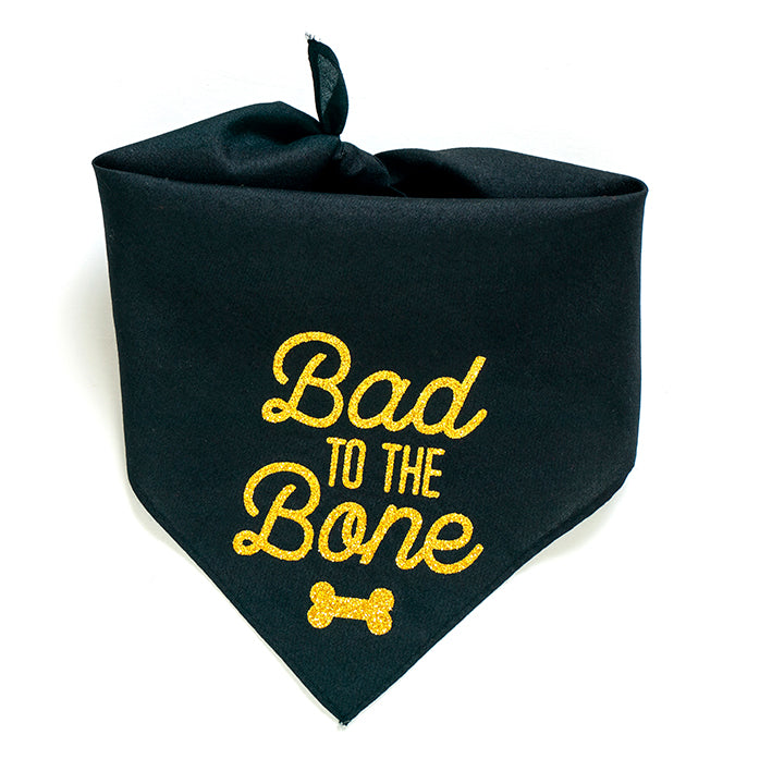 Bad the the Bone Dog Bandana