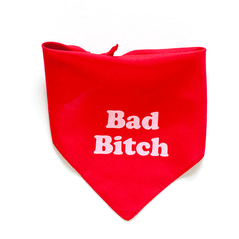 Bad Bitch Dog Bandana