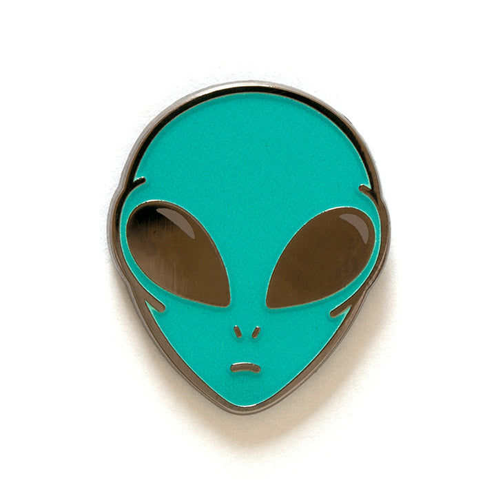 Alien Pin- Glow in the dark!