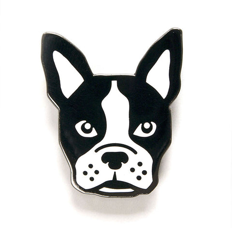 Boston Terrier Pin