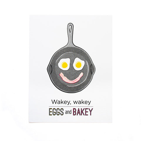 Eggs and Bakey Print